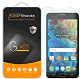 (2 Pack) Supershieldz Designed for Alcatel Pop 4S Tempered Glass Screen Protector, Anti Scratch, Bubble Free