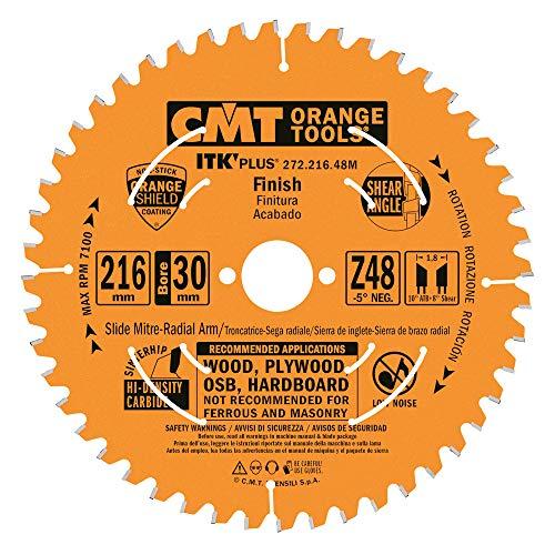 CMT–272.216.48M Handkreissäge ITK Plus HW 216x 1.8x 30Z = 48ATB + Shear-5grad