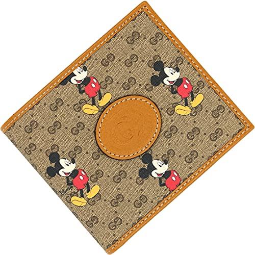 Gucci(グッチ) メンズ 財布 二つ折り DISNEY x GUCCI ミッキーマウス コラボ ディズニー メンズ 二つ折り財...
