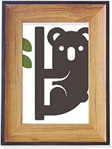 DIYthinker Silhouette Australia Koala and Eucalypt Photo Frame Desktop Display Picture Art Painting Holder