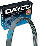 Dayco Main Drive Serpentine Belt for 2003-2012 Honda Accord 3.0L 3.5L V6 Accessory Drive Belts Cooling System