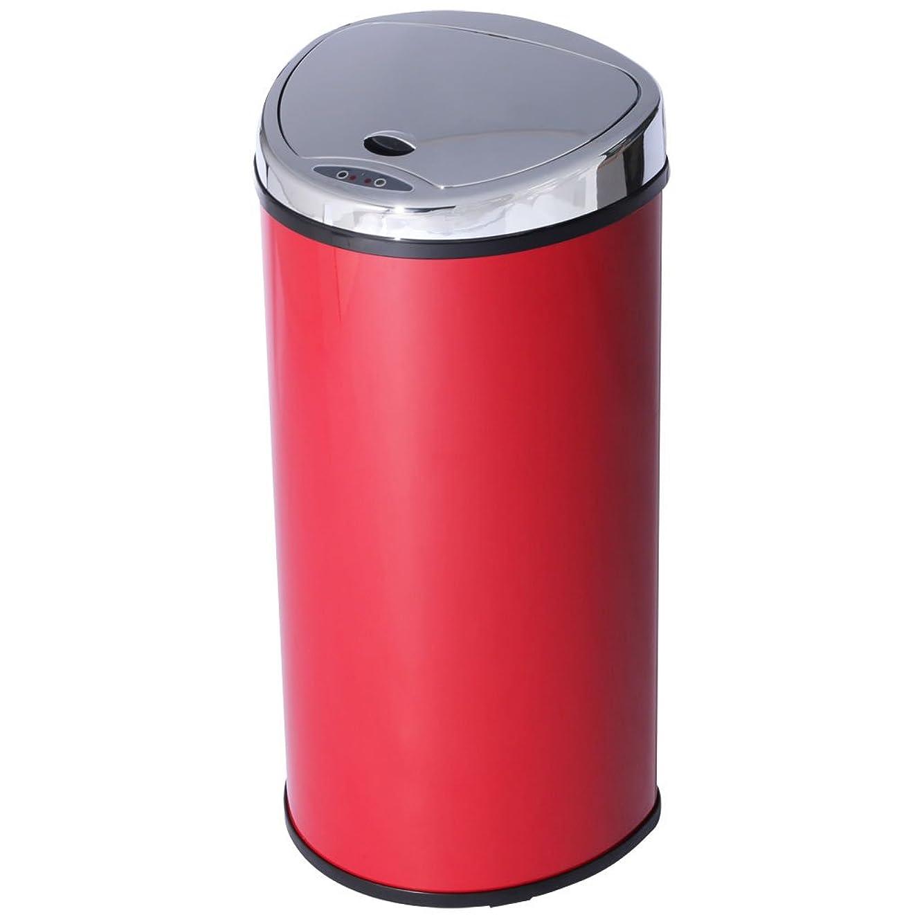 サスティーン人気の午後アイリスプラザ ゴミ箱 自動 開閉 センサー付 68L レッド -