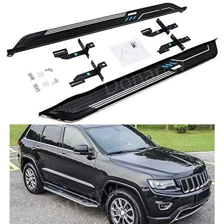 SAREMAS Foot Step for Jeep Grand Cherokee 2011-2019 2020 2021 Running Boards Side Steps nerf bar...