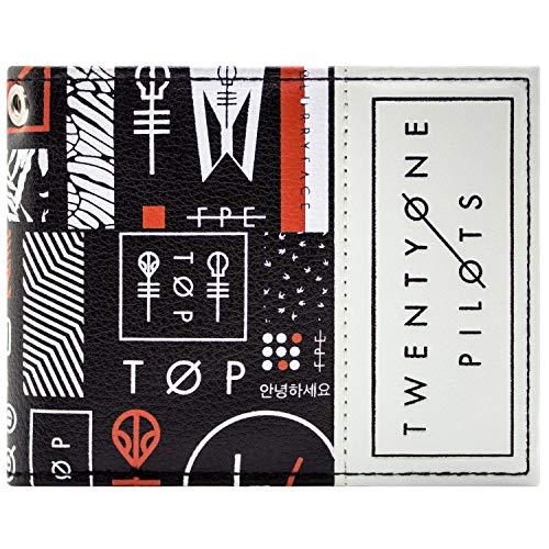 Cartera de Twenty One Pilots Blurryface Banda Negro