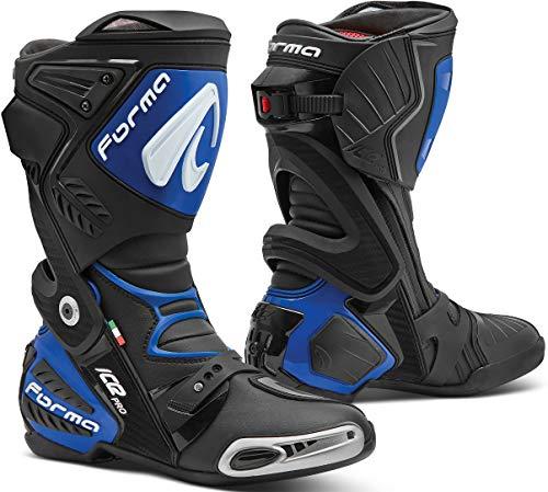 Forma Ice Pro Motorradstiefel Schwarz/Blau 45