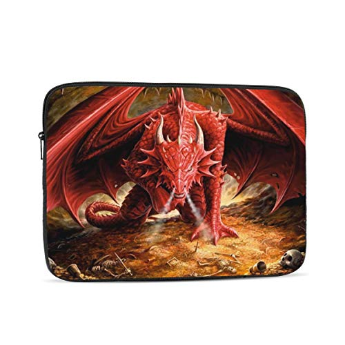 Laptop Sleeve Case for 10 12 13 15 17inch,Dragons-Lair Notebook Computer Pocket Case/Tablet Briefcase Carrying Bag
