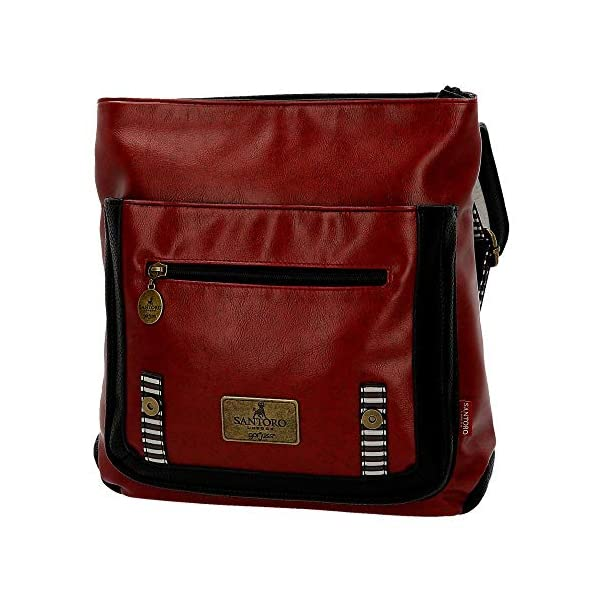 51CqGsaY6cL. SS600  - Mochila pequeña Gorjuss con bandolera Little Red Riding Hood