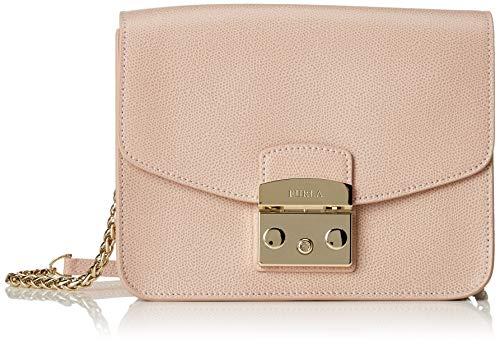 Furla Damen Metropolis Business Tasche, Pink (Moonstone), 15x8x20 cm
