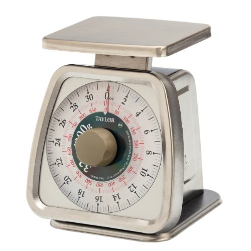 Taylor Precision Products Food Service 32-Ounce Analog Portion Control Scale...
