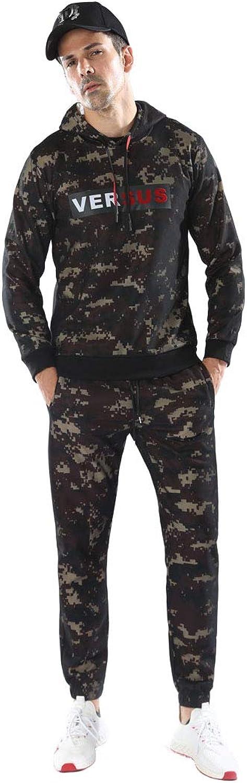 Bmeigo Men Tracksuits Sets Long Sleeve Hoodies Camougflage Jogging Suits
