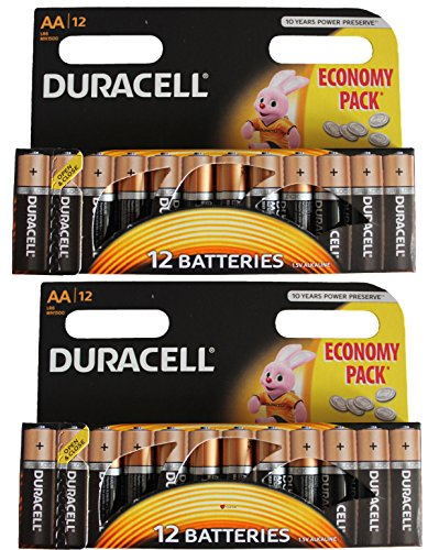 I luv ltd, i luv ltd - 24 x duracell AA Plus Power duralock 1.5v Alkaline Batteries Expires in 2024