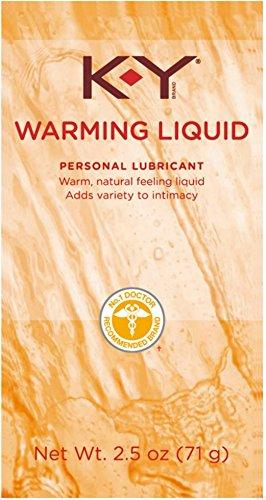 K-Y Warming Liquid Lubricant, 2.5 oz (Pack of 3)