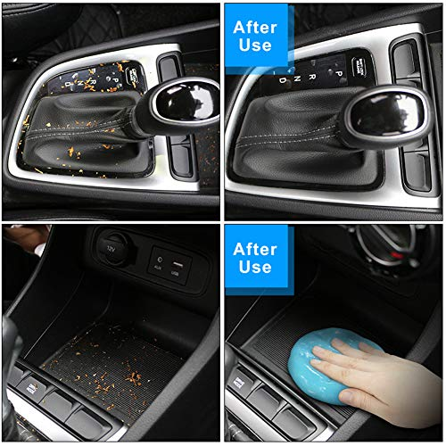 TICARVE Cleaning Gel for Car Detailing Putty Car Cleaning Putty Auto Detailing Gel Detail Tools Car Interior Cleaner Universal Dust Removal Gel Car Vent Cleaner Keyboard Cleaner for Laptop New