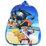 PLAYMOBIL City Action - Mochila infantil, Diseño de piratas. (Azul) - 0126493