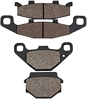 Motorcycle Front And Rear Brake Pads For Kawasaki Ex 500 Ex500 Ninja 500 1994-2009 (Front And Rear)