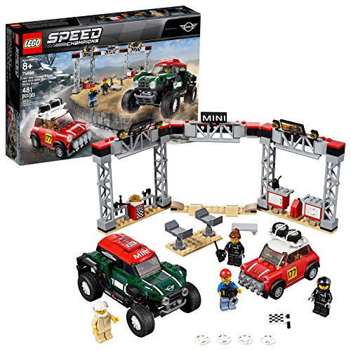 LEGO Speed Champions 1967 Mini Cooper S Rally & MINI John Cooper Works Buggy  $35 at Amazon
