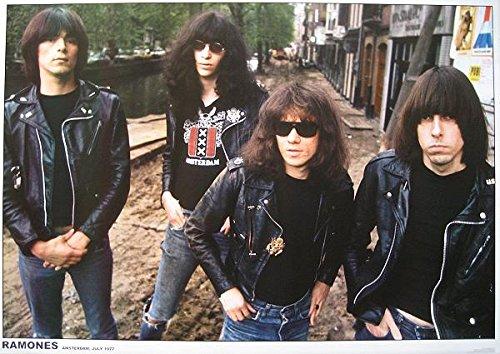 Unbekannt Ramones Poster Amsterdam 1977