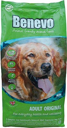 Benevo 4er-Set Hundefutter Vegan -Dog Original- 2kg