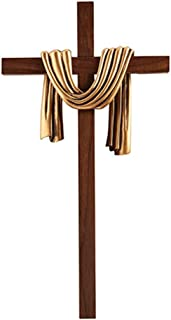 James Brennan Lenten Robe Crosses- Antique Gold Finish, 10 inches