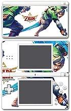 Legend of Zelda Link Skyward Sword Master Sword Attack Video Game Vinyl Decal Skin Sticker Cover for Nintendo DS Lite System