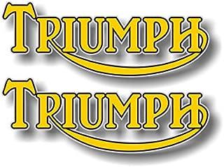2 Triumph 1950's 1960's 1970's Motorcycle 6.5