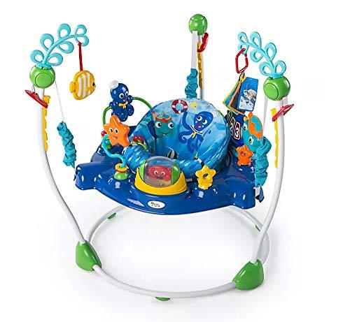Xiangtat Baby Neptune's Ocean Discovery Jumper, Activities Jumperoo , Multifunctional Baby Jumper Infant Bouncer Walker Rocking chiar Baby cardle