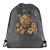 Yuanmeiju RPG United Shoulder Bolsa con cordón Backpack String Bags School Rucksack Gym Sport Bag Lightweight