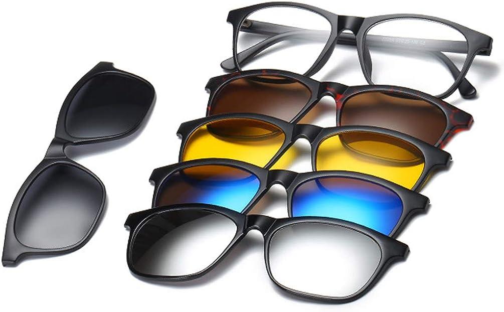 Embryform Lunettes de soleil à clip,lunettes de polarisées ,lunettes de soleil magnétiques Clip C3