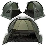 Carp Fishing Quick Erect Bivvy Day Tent Shelter 1-2 Man Fishing...