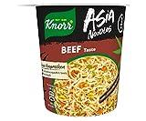 Knorr Asia Noodles Beef Taste, 1 Portion ( 1 x 65g ) (Lebensmittel & Getränke)