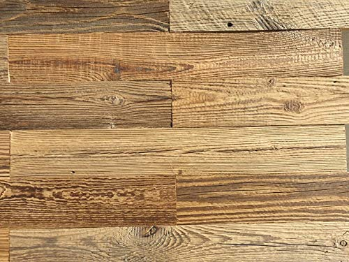 Echtholz Verblender, Altholzbretter, Altholz, Sonnenverbrannt,Tolle Holzdeko für die Wand,Wandverkleidung