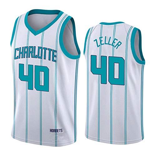 Hornets # 2 - Camiseta de baloncesto para hombre, 2021 New Season Hornets, camiseta de baloncesto transpirable para todo el equipo # 40 M (65 ~ 75 kg)