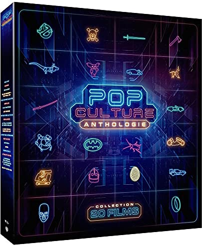 Coffret POP Culture Ready Player One - Collection de 20 films cultes [Francia] [Blu-ray]