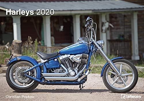 Harleys 2020 - Wandkalender - Christian Popkes - 42x29,7cm - Motorradkalender - Fankalender - Harley Kalender