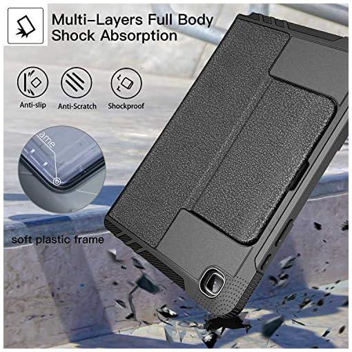 ZtotopCase Funda para Samsung Galaxy Tab A7 de 10,4 Pulgadas 2020, [6 ángulos de Soporte magnético] Funda de protección… 5