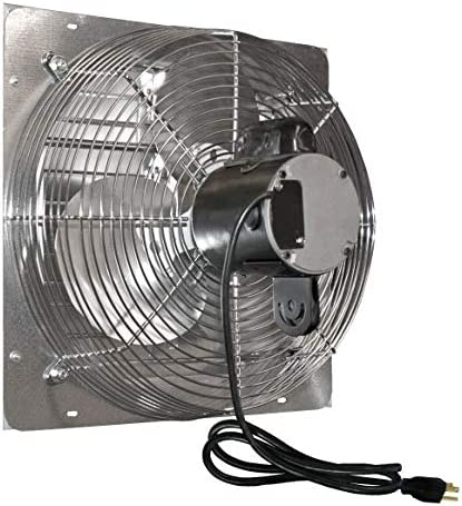 JD Manufacturing Limited time cheap sale J and D VES201C Baltimore Mall Fan 20 in. Exhaust wit Shutter