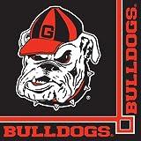 Creative Converting 336376 Georgia Bulldogs Beverage Napkins, 20-Count