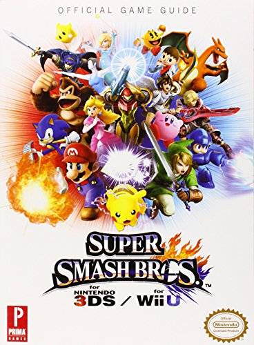 Super Smash Bros. WiiU/3DS: Prima Official Game Guide