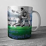 Bath's Biggest Fan Rugby taza/taza – regalo de cumpleaños