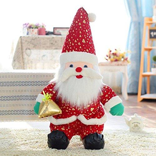 SSITG Weihnachtsmann Puppe Geschenk Deko Weihnachten Nikolaus Geschenk 20cm
