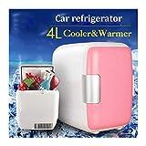 G-Jbx 12V tragbare Mini-4L Kühl Warming Kühlschränke Kühlschrank Gefrierschrank Cooler Spielraum-Wärmer for Auto Home Office Außen