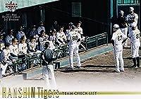 BBM ベースボールカード 332 阪神タイガース (レギュラーカード/チームチェックリスト) 2021 1stバージョン