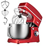 Best electric mixer with bowl - VIVOHOME 7.5 Quart Stand Mixer, 660W 6-Speed Tilt-Head Review