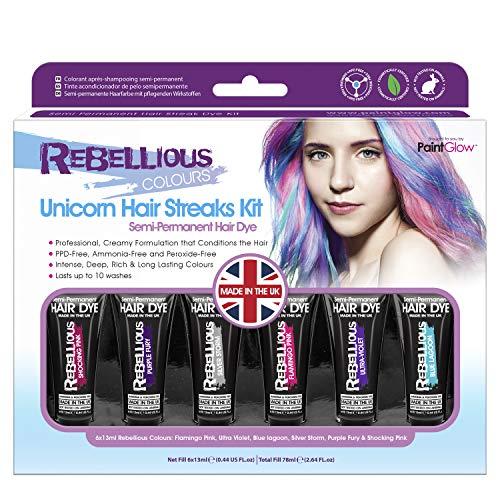 Paintglow- Unicorn Hair Dye Boxset (GS015)