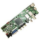 YOKING T.S512.69 QT526C - Scheda madre di televisione digitale con telecomando segnale digitale DVB-T2 DVB-S2 DVB-C