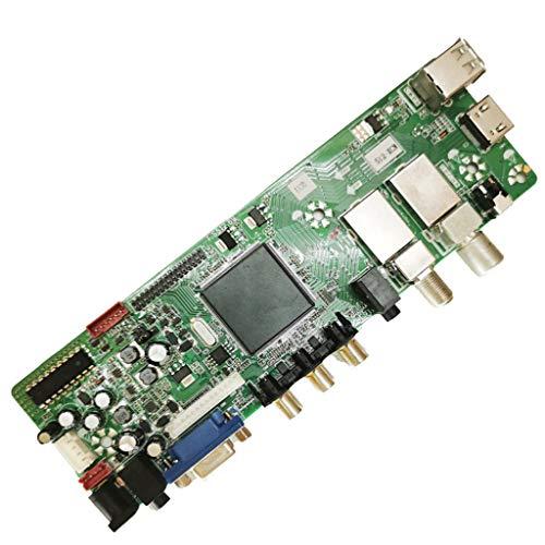 Myya T.S512.69 QT526C Placa Base de televisión Digital con Control Remoto Soporte Digital DVB-T2 DVB-S2 DVB-C Board
