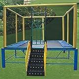 KY Outdoor Garten Trampolin CE-zertifiziertes Gymnastic Fitness Trampolin Kindertrampolin