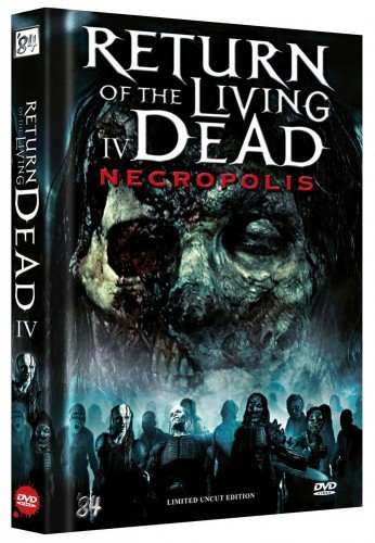 The Return of the Living Dead IV - Limited Mediabook Collector's Edition (Uncut Streng limitiert / Ausverkauft) DVD