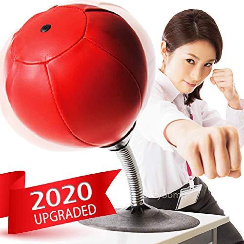 Vrijstaande Desktop Bokszak-Stress Buster Relief met standaard Boksen Punch Ball met zuignap Reflex Strain Ontspanning Snelheid
