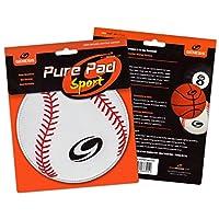Genesis Pure Pad Sport Bowling Ball Wipe Pad- Baseball Theme